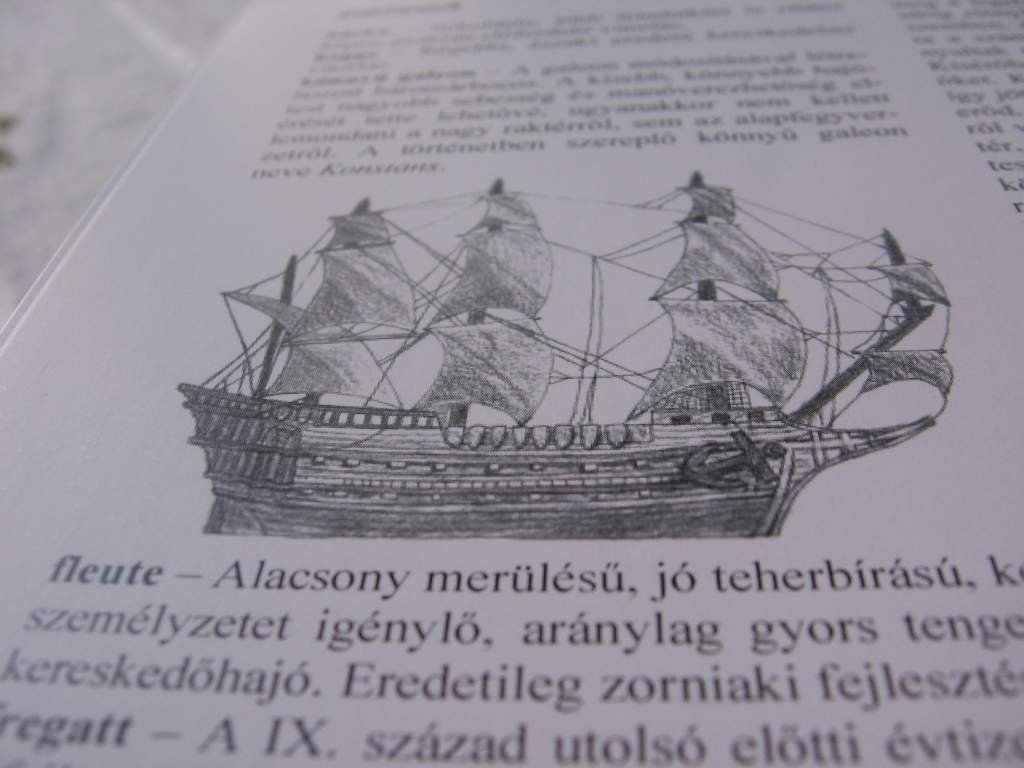 Appendix – galleon